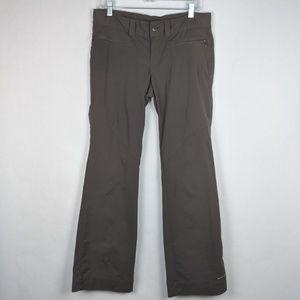 Columbia Omni Women's Grey Hiking Pants Size 10